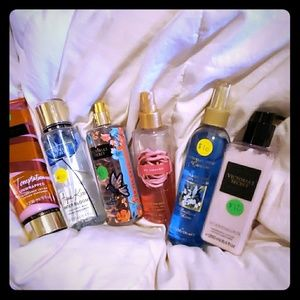 Victoria secret fragrance mist and lotion lot